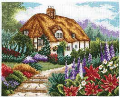 Cottage Garden In Bloom
