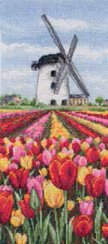 Dutch Tulips Landscape
