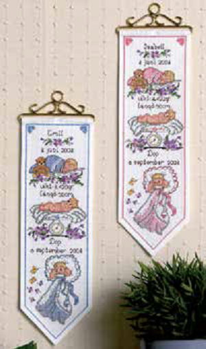 Girl Birth Wall Hanging